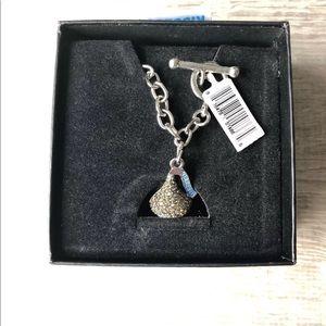Swarovski Jewelry - Swarovski Crystal Hershey Kiss Charm Bracelet